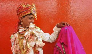 Hochzeit in Indien (Foto)