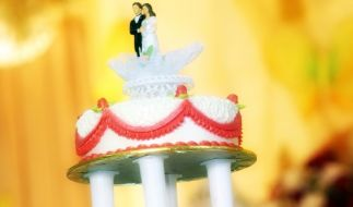 Hochzeitstorte (Foto)