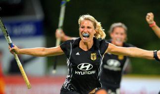 Hockey-Damen remis im Olympia-Test gegen Großbritannien (Foto)