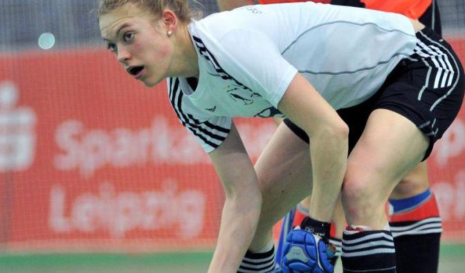 Hockey-Damen starten mit 5:3-Sieg in Hallen-EM (Foto)