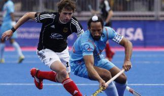 Hockey-Herren gewinnen auch gegen Indien (Foto)