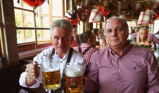 Hoeneß sicher: Heynckes wird nicht «fahnenflüchtig» (Foto)
