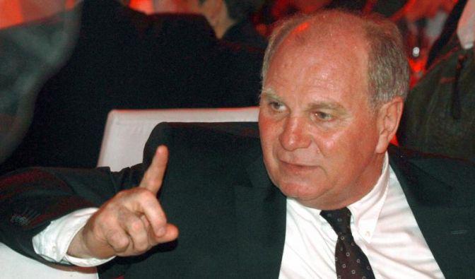 Hoeneß will keinen Streit mit BVB-Bossen (Foto)