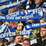 Hoffenheim-Fans in der Rhein-Neckar-Arena. (Symbolbild) (Foto)