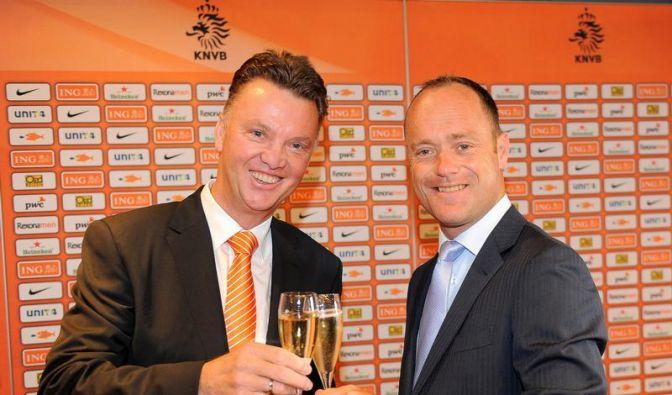 Holland hofft auf Bondscoach Louis van Gaal (Foto)
