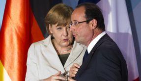 Hollande beim Doppelgipfel erstmals auf internationalem Parkett (Foto)