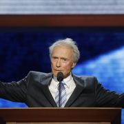 Hollywood-Schauspieler Clint Eastwood sprach auf dem republikanischen Parteitag in Tampa, Florida.