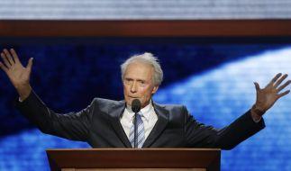 Hollywood-Schauspieler Clint Eastwood sprach auf dem republikanischen Parteitag in Tampa, Florida. (Foto)
