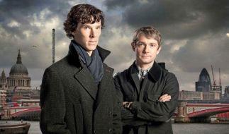 Holmes und Watson (Foto)