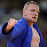 Holte unter den Augen von Wladimir Putin Bronze: Der in Russland geborene Judoka Dimitri Peters.