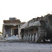 Homs, Damaskus, Aleppo - syrische Städte sind zu Kriegsschauplätzen geworden.