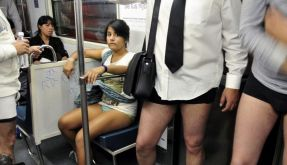 Hose runter in New York (Foto)