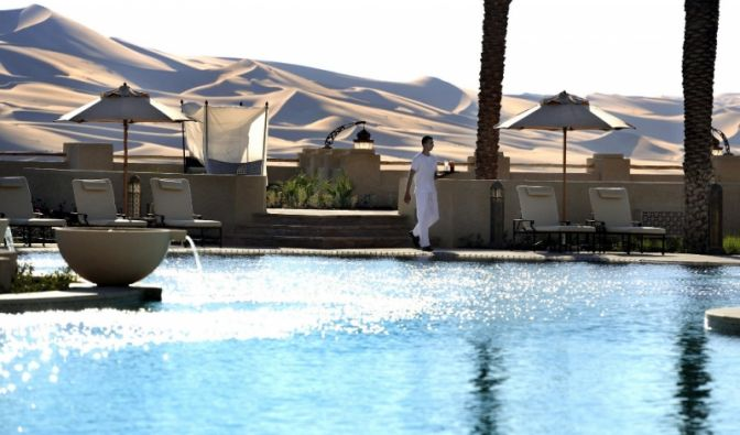 Hotel in der Wüste (Foto)