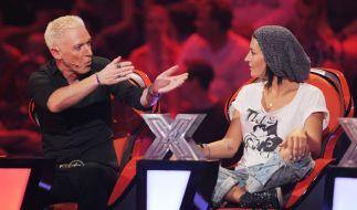 H.P. Baxxter und Sarah Connor sind bei X Factor nicht immer einer Meinung. (Foto)