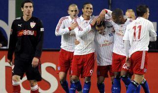 HSV auf Tuchfühlung zur Spitze: 2:0 über Stuttgart (Foto)