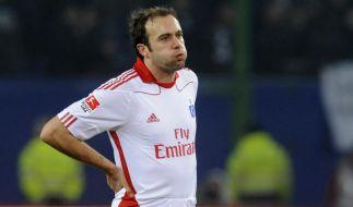 HSV ohne Mathijsen gegen Dortmund (Foto)