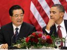 Hu und Obama (Foto)