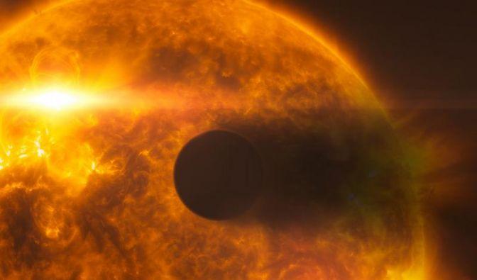 «Hubble»-Teleskop beobachtet verdampfende Planeten-Atmosphäre (Foto)