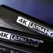 Hüllen von UHD-Blu-rays: Viele Filme gibt es in dieser Auflösung allerdings noch nicht. (Foto)
