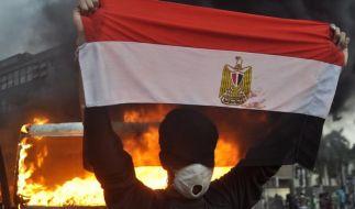 Hunderte Verletzte am Tahrir-Platz in Kairo (Foto)