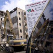 Hunderttausende Wohnungen werden in Ostdeutschland abgerissen - andernorts fehlen sie.