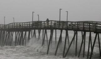 Hurrikan «Irene» bedroht US-Ostküste (Foto)