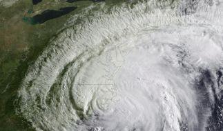 Hurrikan Irene fegte Ende August über die Ostküste der USA.  (Foto)