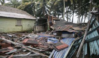 """Hurrikan """"Irma"""" hat in der Karibik ein Bild der Zerstörung hinterlassen. (Foto)"""