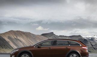 Hybrid-Kombi Peugeot 508 RXH startet bei 41 900 Euro (Foto)