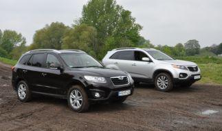 Hyundai Santa Fe und Kia Sorento (Foto)