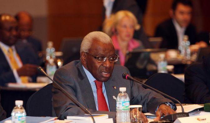IAAF-Chef Diack steht beim Kongress zur Wiederwahl (Foto)