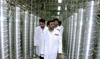 IAEA-Experten im Iran - Warnung vor Eskalation (Foto)