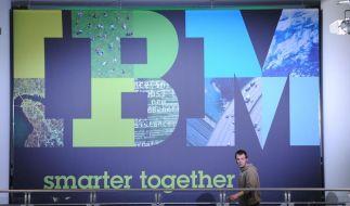 IBM wächst mit Software und Dienstleistungen (Foto)