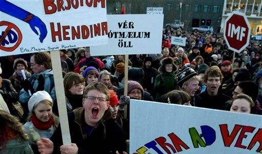ICELAND FINANCE MELTDOWN (Foto)