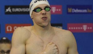 «Ich bin Tests geschwommen, die ich vorher so noch nie schnell geschwommen bin»: Paul Biedermann auf Medaillen-Mission. (Foto)