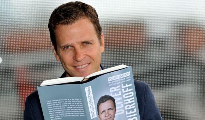 «Ich wollte kein übliches Fußballerbuch machen»: DFB-Teammanager Oliver Bierhoff. (Foto)