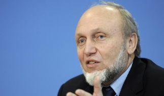 Ifo-Präsident Hans-Werner Sinn ist Initiator des öffentlichen Briefes. Der Volkswirt warnt besonders vor einer europäischen Bankenunion. (Foto)