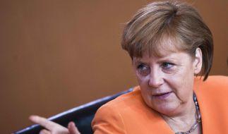 Ihre Beliebtheit hält der Krise stand: Angela Merkel im Stimmungshoch der Bürger. (Foto)