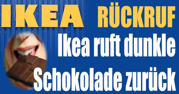 Ikea Glass Cabinet With Lock ~ Choklad Mörk Ikea ruft Schokolade zurück  news de