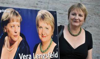Im Bundestagswahlkampf warb die ehemalige DDR-Bürgerrechtlerin und CDU-Politikerin Vera Lengsfeld of (Foto)