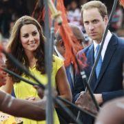 Im Dschungel erholen sie sich: Prinz William und Herzogin Catherine.