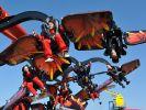 Im neuen «Flying Ninjago» heben Mutige auf Drachenflügeln ab und wirbeln wie Ninjas in 22 Meter Höhe durch die Lüfte. (Foto)