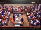 Im Genfer Parlament kommt es zu Tumulten. (Foto)