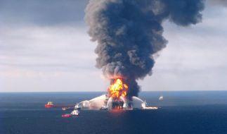 Im Golf von Mexiko droht nach Unfall Ölkatastrophe (Foto)