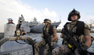 Im Kampf gegen Piraten (Foto)