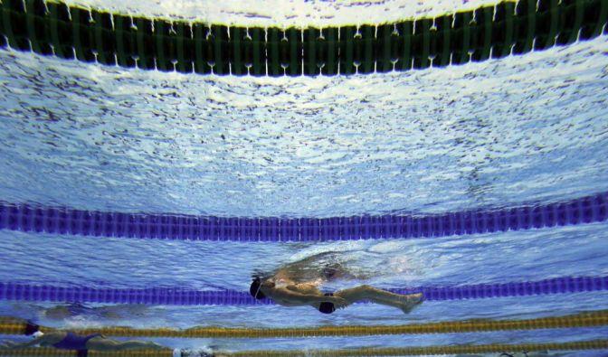 Im Londoner Aquatics Center hat Sebastian Rodriguez Veloso seine Medaillensammlung aufgestockt. (Foto)
