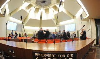 Im Saal 101 im Strafjustizzentrum in München findet ab dem 17. April 2013 der Prozess gegen den NSU statt. (Foto)