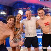 Im Vorjahr auf dem Treppchen: Luke Mockridge (2. Platz), Miss Ronja (Sieger) und Markus Rehm (3. Platz) (Foto)