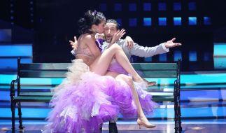 Immer für einen heißen Let's Dance-Auftritt gut: Rebecca Mir und Massimo Sinató. (Foto)
