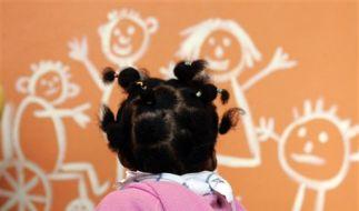 Immer mehr Migrantenkinder besuchen die Kita. (Foto)